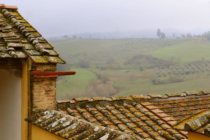 3bedrooms in the hills of Chianti - Montespertoli - Dom