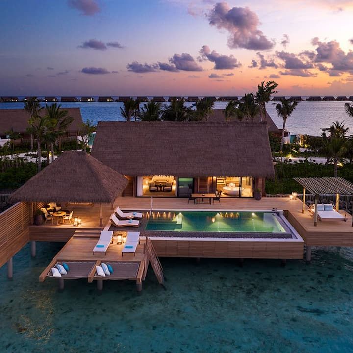 Maldives - Two Bedroom Reef Villa with Pool