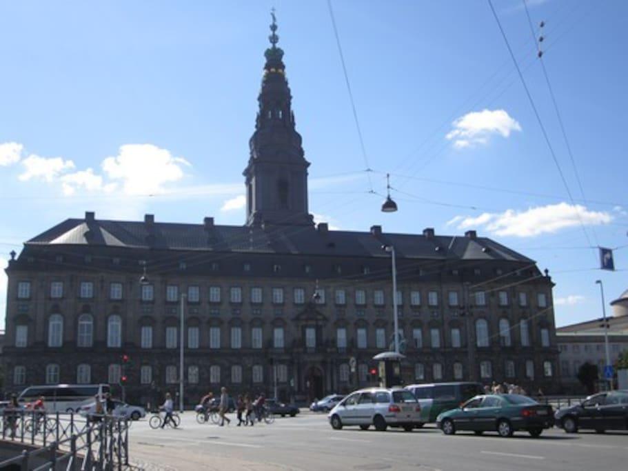 seværdighed Christiansborg