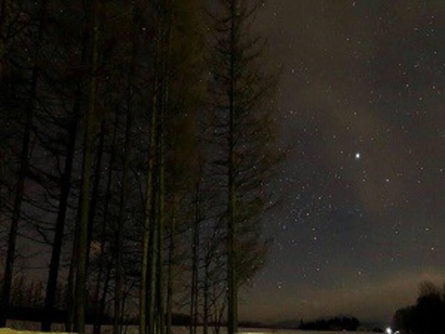 八千代の星空 空気が綺麗で星の観測には最高です