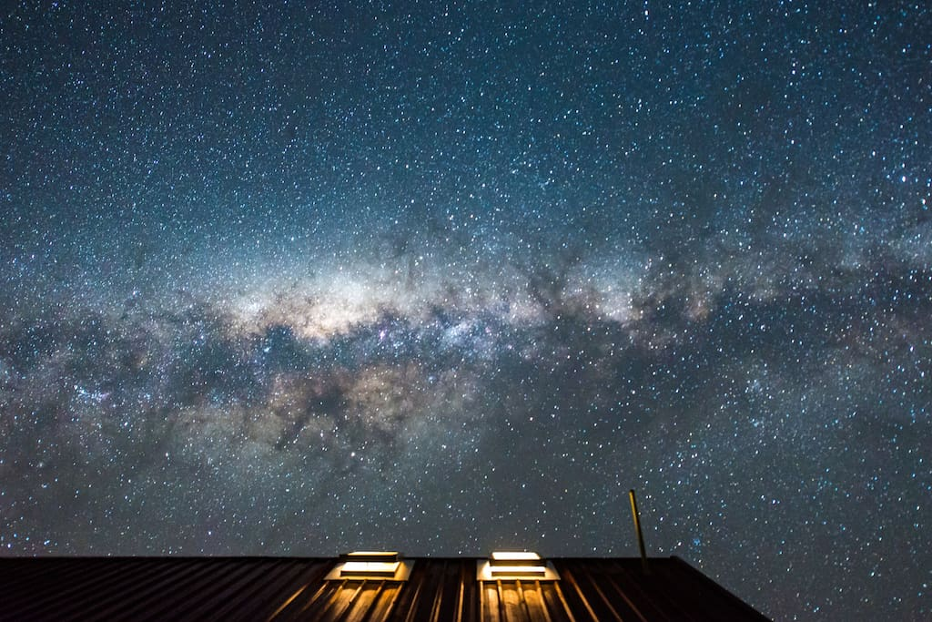 "The ""Milky Way"" over the chalet! Photo courtesy of wonderful Airbnb guest. Thank you!"