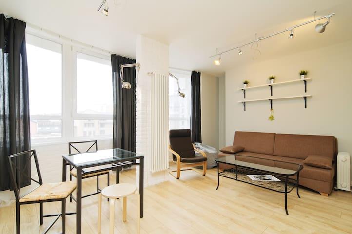 Modern LoftStyle Apartment at Petrogradka