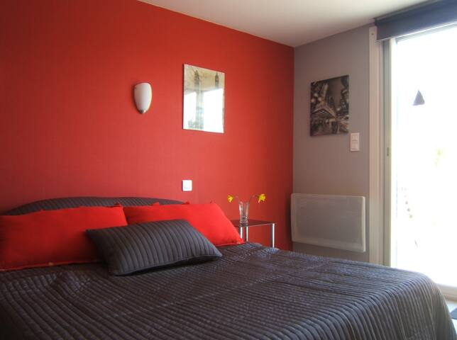 Le Clos Albertine Chambre Ville - Villeneuve-Tolosane - Bed & Breakfast