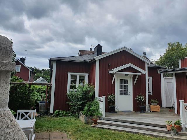 Gårdshus i Västervik. Gardenhouse in Västervik