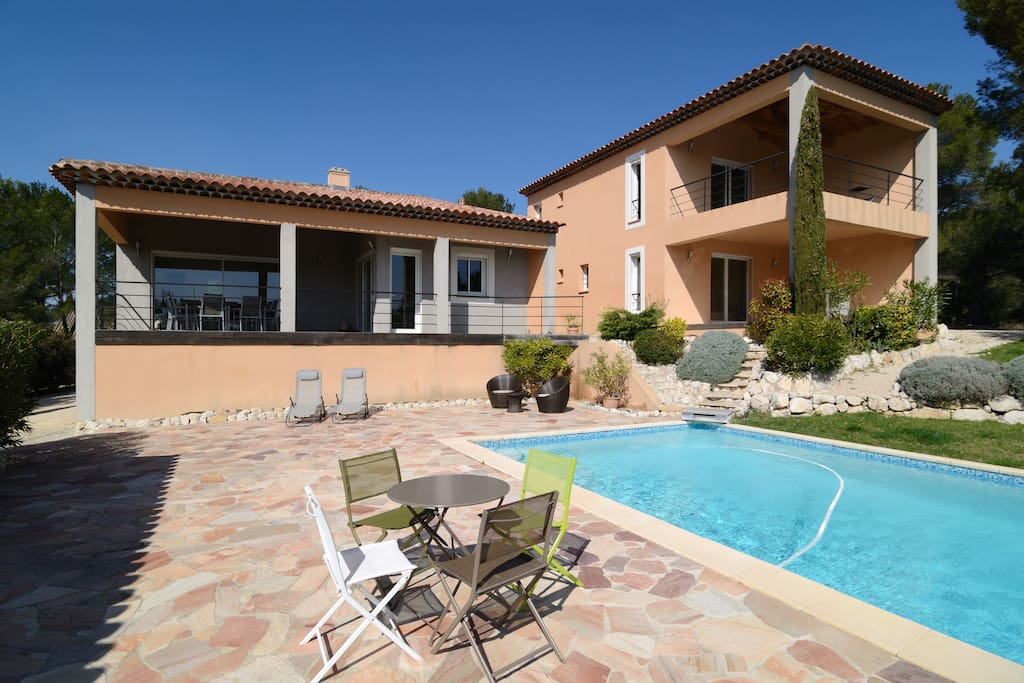 villa aix en provence avec piscine villas for rent in