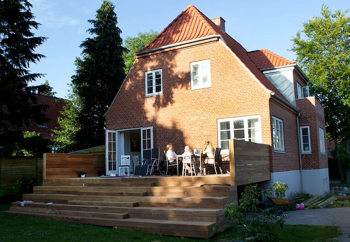 new renovated house with big garden