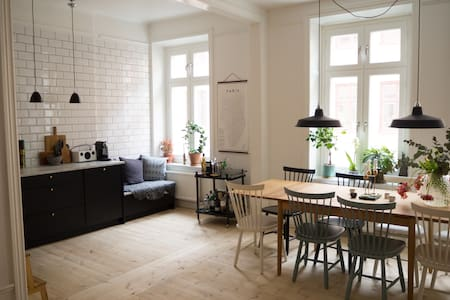 70sqm open flat with balcony in trendy Södermalm - Tukholma - Huoneisto