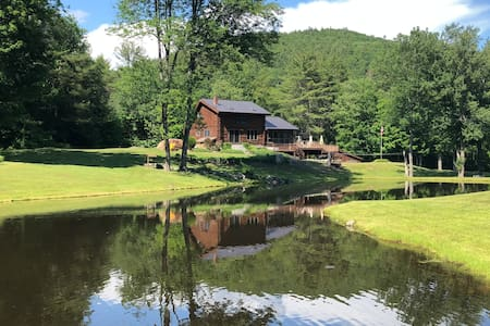 The Tartan Rabbit w/Swim Pond, River & 15+ Acres