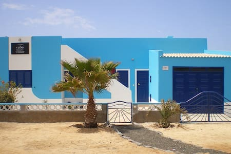 villa do mar, first line ocean - Santa Maria - Villa