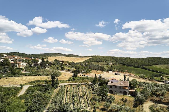 Chianti Villa Il Mercatale di Radda
