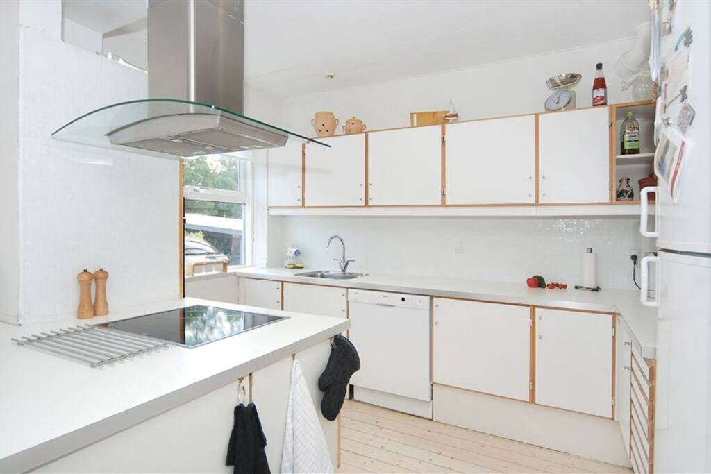 Kitchen, shared with host