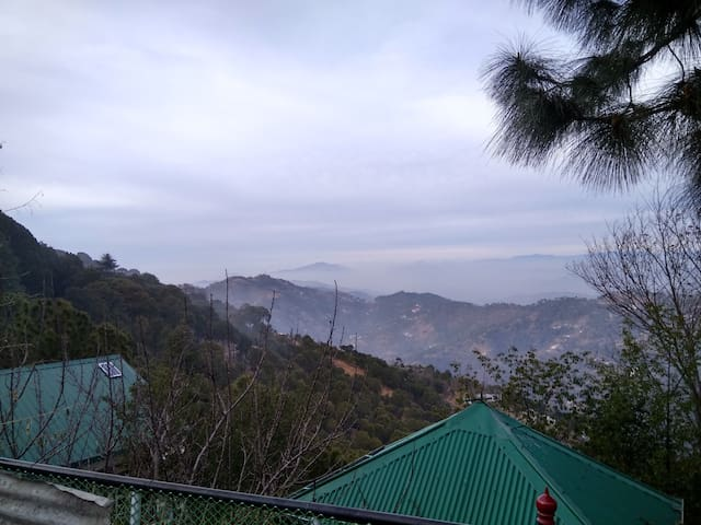 Luxury Dbbl bed Rooms with View - Kasauli - Casa