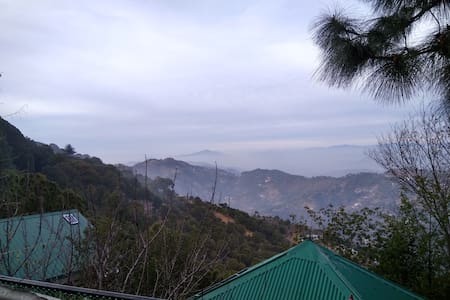 Luxury Dbbl bed Rooms with View - Kasauli - Dom