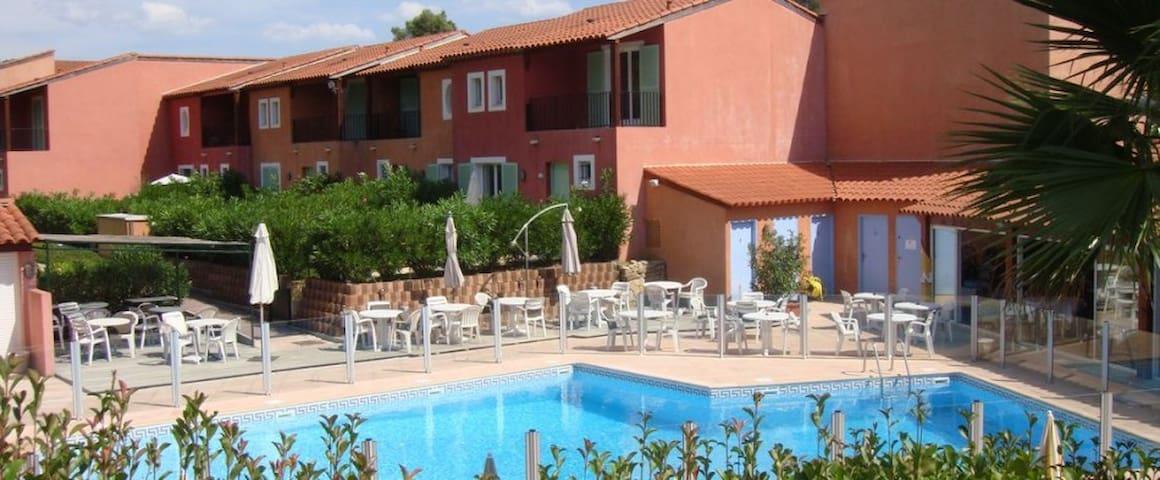 COTE D'AZUR Studio 23 m² Vue golf et vue piscine - Mouans-Sartoux - Apartment