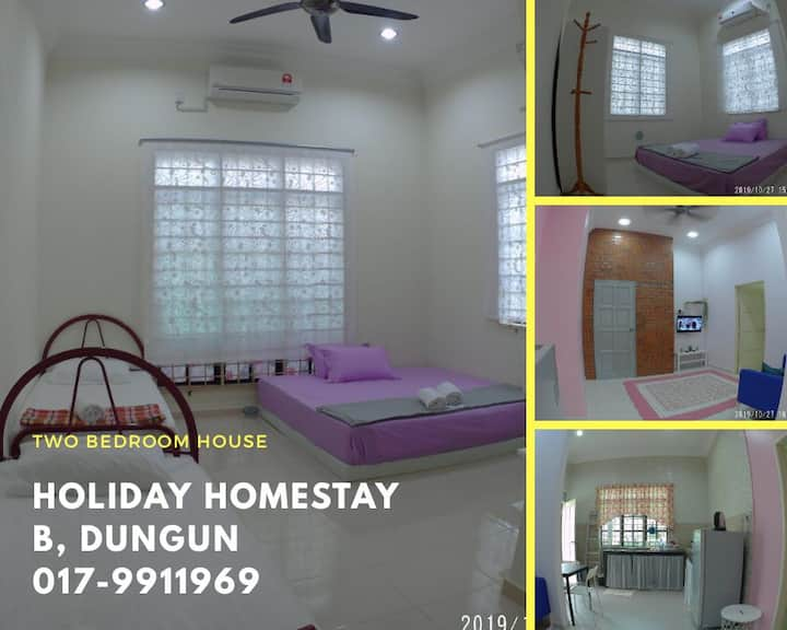 Two Bedroom Holiday Homestay B