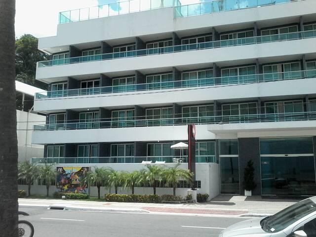 Apartamento de frente para o mar do Cabo Branco - João Pessoa - Apartamento