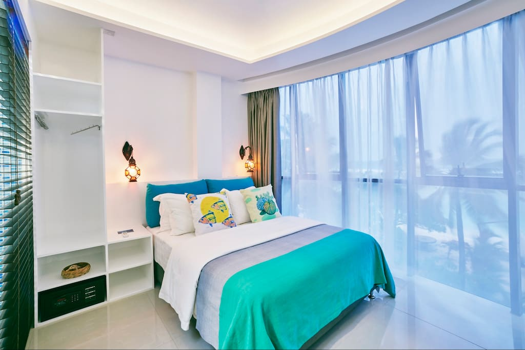 Island beach house guesthouse for rent in hulhumale for The family room hulhumale