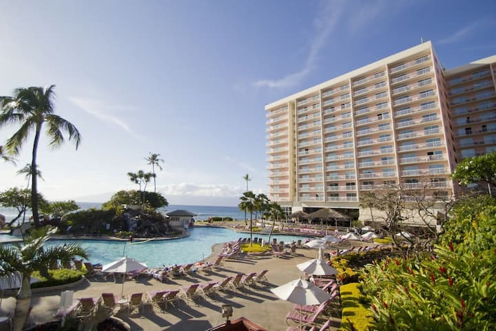1BR Oceanview At Kaanapali Beach Club