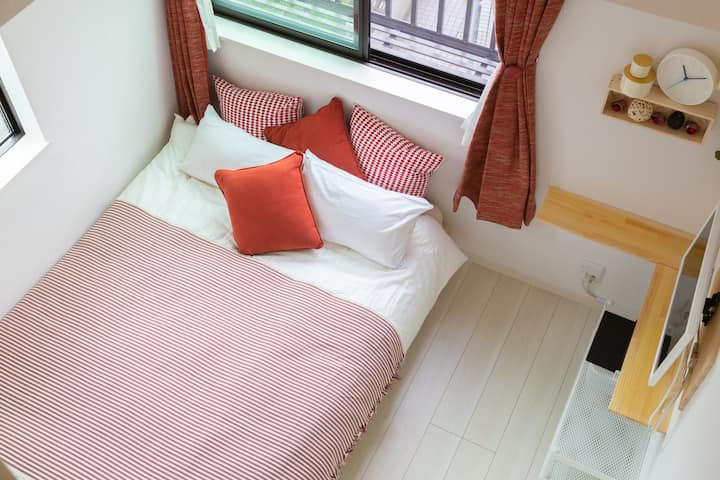 Cozy Vibes |RD| Loft room. Higashi-Shinjuku 5 mins
