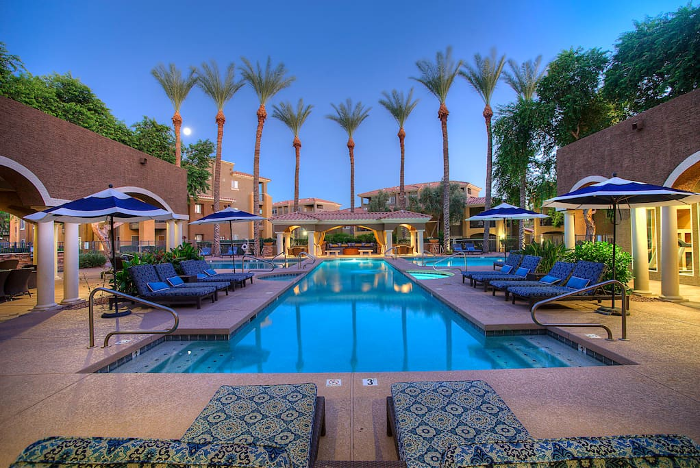 3 bedroom villa at tpc scottsdale apartments for rent in scottsdale arizona united states for 3 bedroom apartments in scottsdale