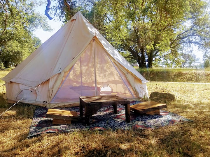 """Tent #4 - """"Under the Oak""""  by Heartland Collective"""
