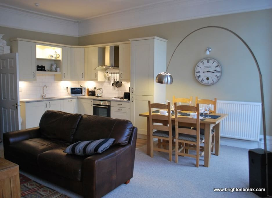 Fantastic self catering and entertaining area