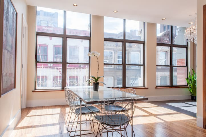 TriBeCa 2500 Sq Ft w/ Priv Elevator - New York - Loft