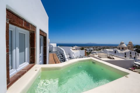 Great Vacation Maisonette private jacuzzi