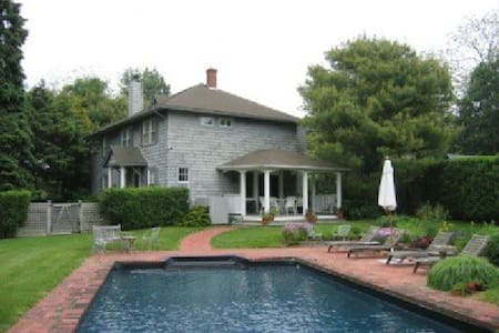 Private home in East Hampton w/pool - East Hampton - House