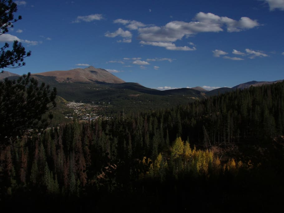No better view in Breck!