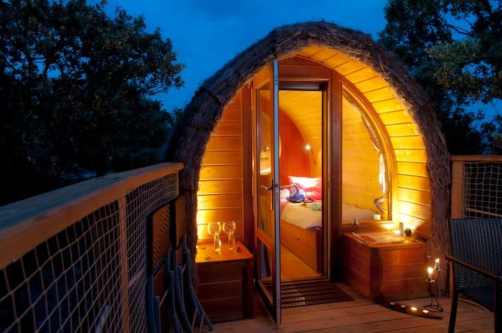 Cabaña en el Árbol - Gargantilla del Lozoya - Natur-Lodge