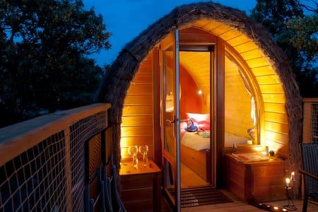 Cabaña en el Árbol - Gargantilla del Lozoya - Rumah tumpangan alam semula jadi