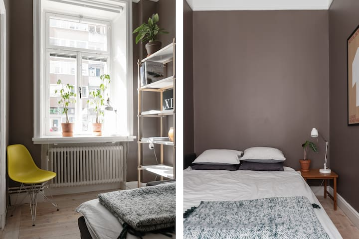 Room on Södermalm in stunning flat