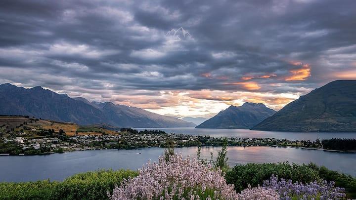 180 Degree lake views on famous Panorama terrace