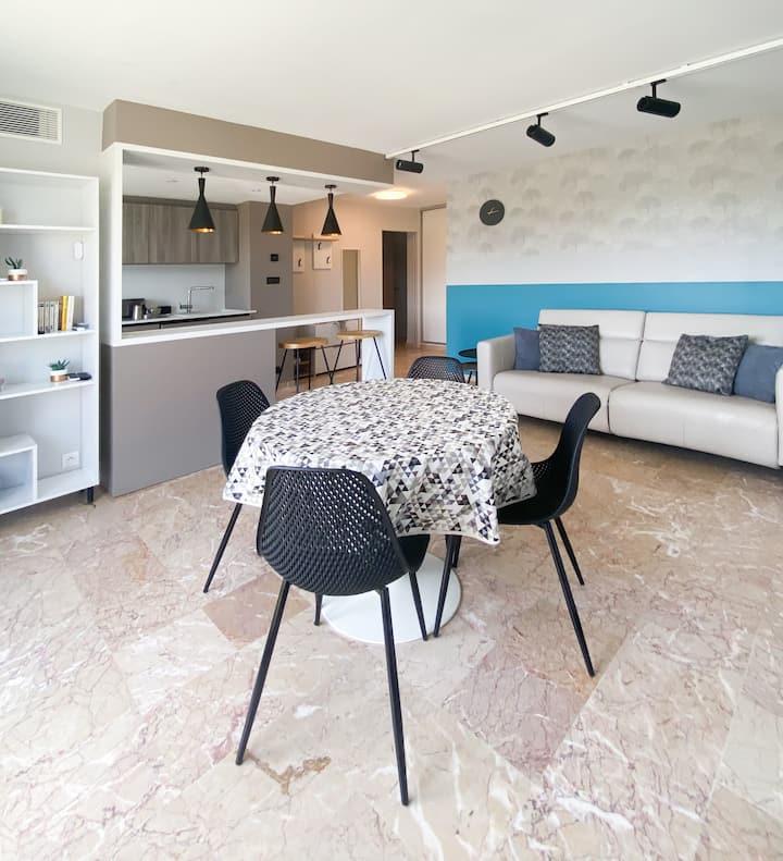 Bel appartement T3 au cœur de Gréoux-Les-Bains