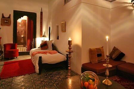 Riad dar Mouassine/Suite Badiane - Marrakesh - Bed & Breakfast