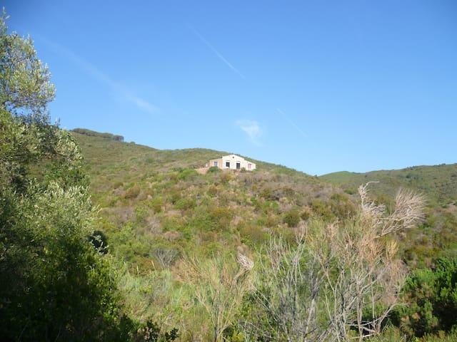 Inverno all'isola d'Elba - Campo Ai Peri - บ้าน