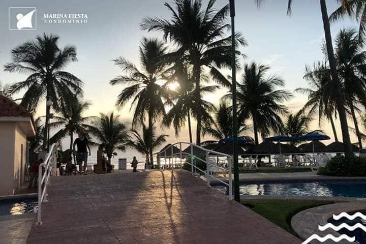 Departamento en la playa de Nuevo Vallarta.