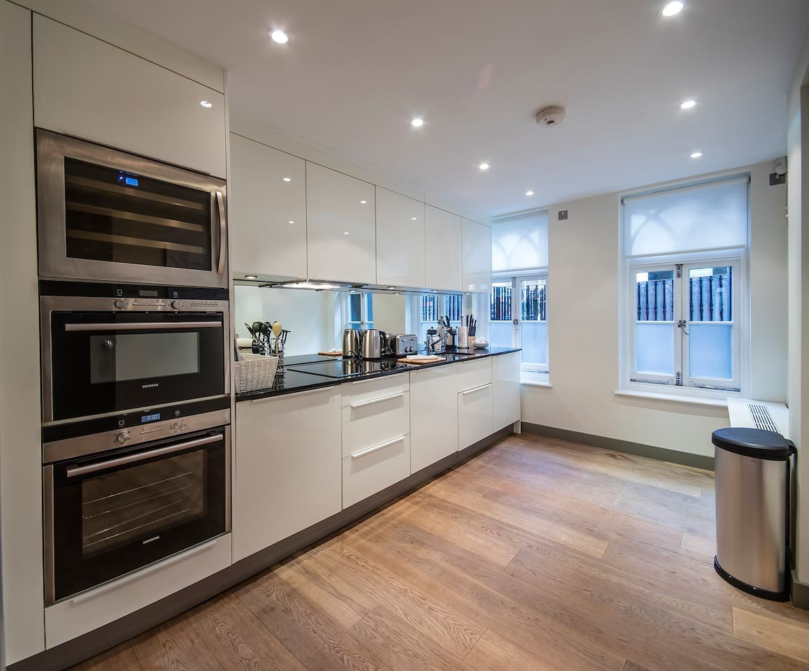 Stunning Modern Kitchen The kitchen is fitted out with all the latest equipment and everything you need to prepare fabulous meals with.