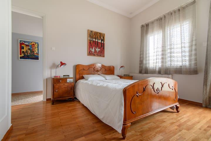 Bedroom 1 - Original 1950s decor
