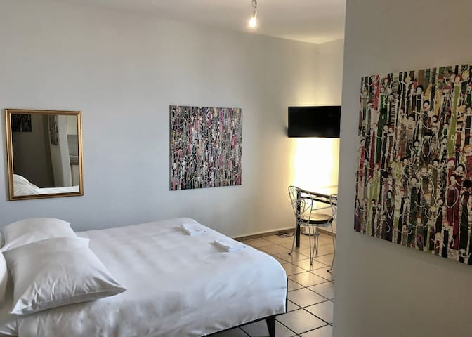 City center studio flat in the heart of Locarno