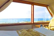 Darss Ostsee-Strand u fast IM Meer