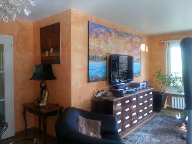 Living room partial view -Wohnzimmer Teilansicht
