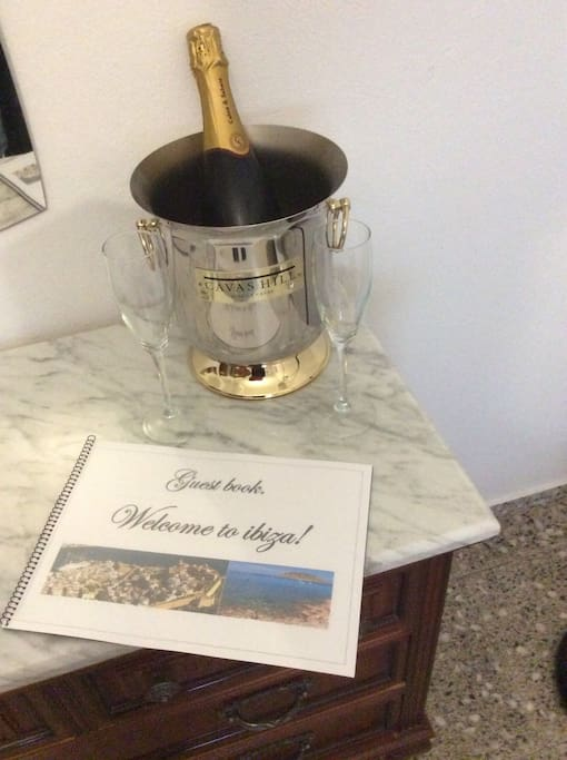 WELCOME TO IBIZA , GUEST BOOK FOR OUR GUEST,WITH PRECIOUS INFO.