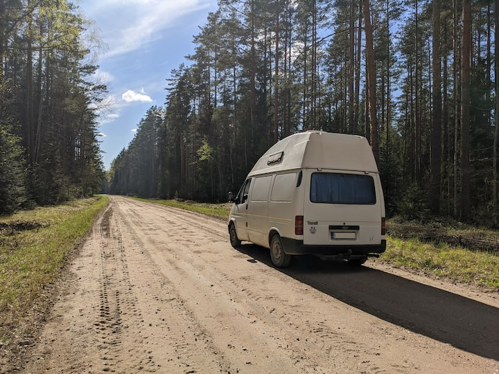Camper van to explore the Baltic States