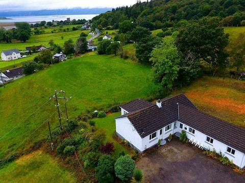 Burnside Hilltop Cottage, Appin. No cleaning fee!