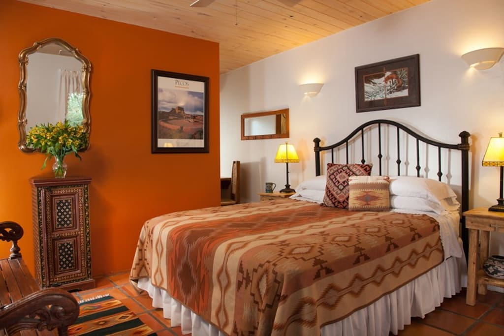 The Dos Garden Room is perfect for those on a budget or shorter stays or solo travelers.