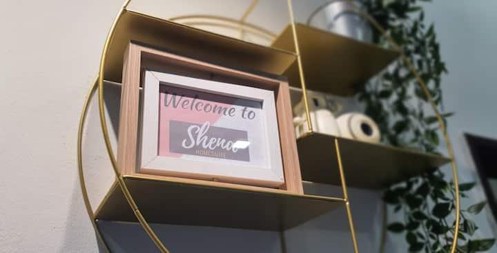 SHENA Homesuite | New 3BR Cozy House Sleep 6 ☆