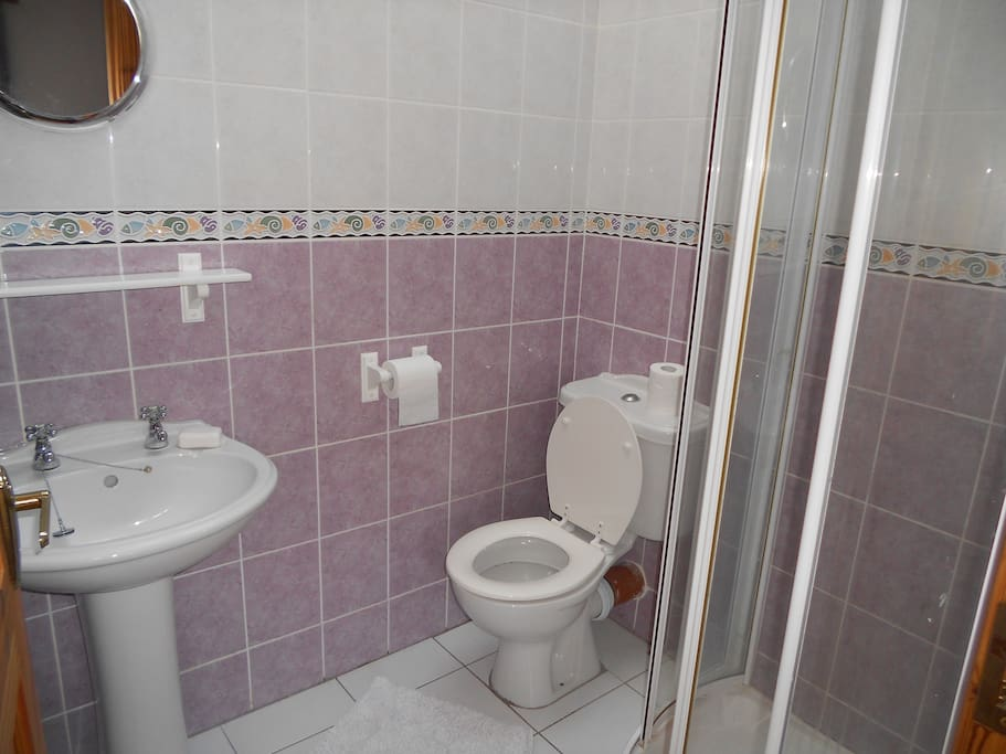 Your own en suite bathroom