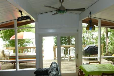 Lakefront Cottage Modern & Cozy  - Cabin